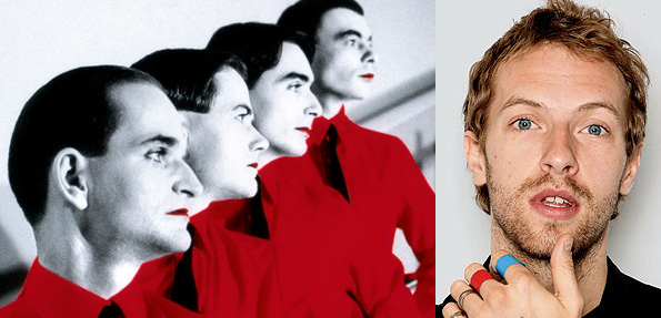 Kraftwerk vs Coldplay