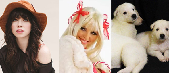 Carly Rae Jepsen vs. Aza vs. Puppies