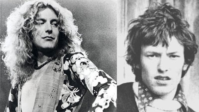 Robert Plant and Steve Winwood on ThatSongSoundsLike.com